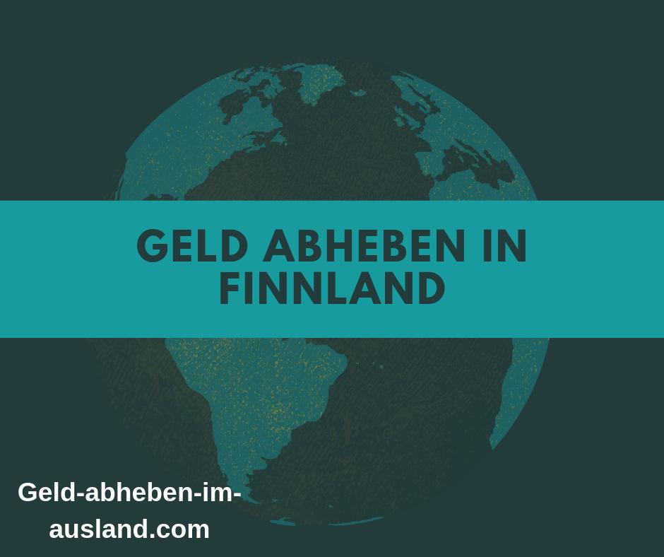 Geld abheben in finnland bild