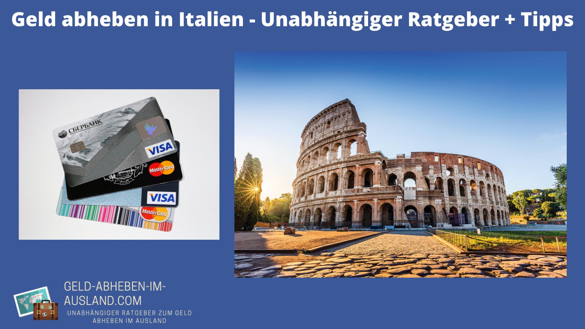 geld abheben italien rom
