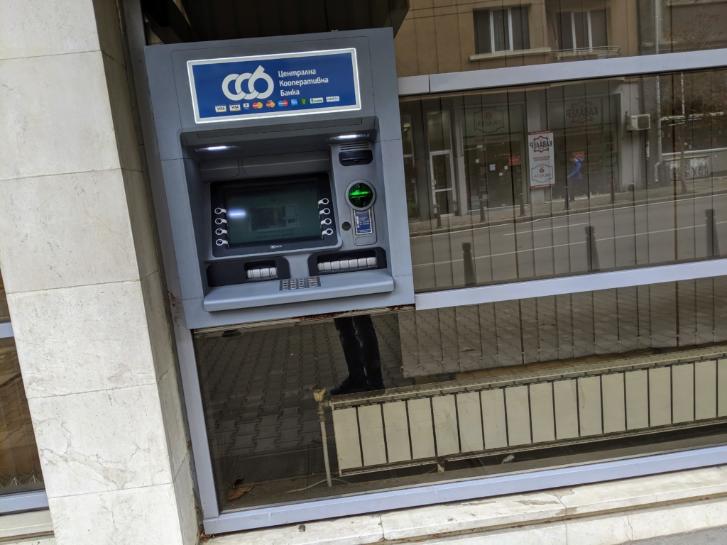 Geldautomat in Bulgarien