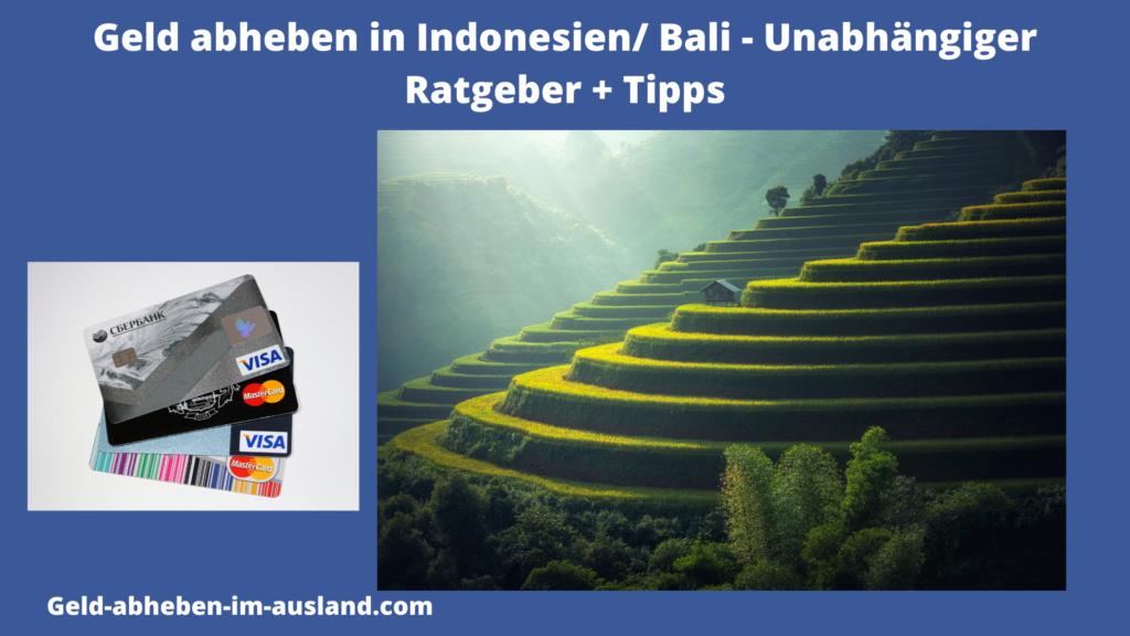 Geld abheben auf Bali