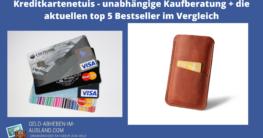 Kreditkartenetui Test